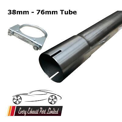Di alta qualità TUBO TUBI DI SCARICO T304 Acciaio Inox Riparazione Sezione 1.5mm Muro
