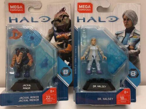 Halo Jackal Minor And Dr.halsey FVK21 /& fvk25 MEGA HEROES SERIES 8