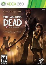 The Walking Dead Game of the Year Edition (Xbox 360 2013)VG Complete Zombies!