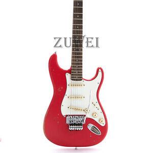 Light-Relic-ST-Electric-Guitar-Aged-Hardware-Nitro-Finish-Floyd-Rose-Bridge