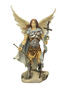 Archangel-Gabriel-hand-painted-statue-9-inches