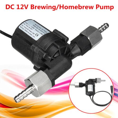 DC 12V 18W Homebrew Bier Pump Wasserpumpe Tauchpumpe Umwälzpumpe mit Adapter
