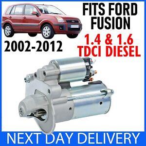 Si-adatta-Ford-Fusion-1-4-amp-1-6-TDCi-Diesel-2002-2012-AUTO-amp-MANUALE-NUOVO-Motore-Di-Avviamento