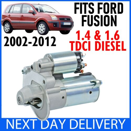 FITS FORD FUSION 1.4 /& 1.6 TDCi DIESEL 2002-2012 AUTO /& MANUAL NEW STARTER MOTOR