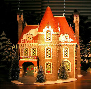 Department-56-Christmas-In-The-City-THE-CONSULATE-58951-NeW-MINT-FabULoUs