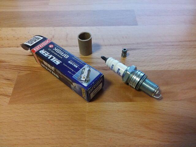 Petrol,Gasoline,Lpg 1x LR15YS = Brisk YS Silver Electrode Upgrade Spark Plugs