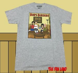 6bad1b3d3 New Bob's Burgers Family Cast Cartoon Fox Graphic Mens T-Shirt | eBay
