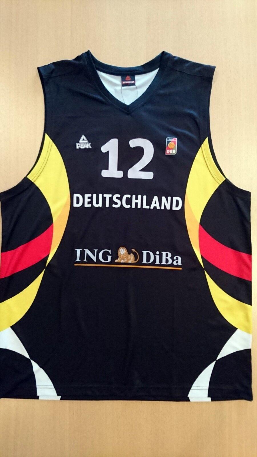 Camiseta baloncesto basketball jersey Robin Benzing Alemania Fiba