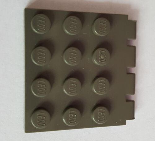 LEGO 4213 piastra di cerniera cerniere 4x4 1x4 auto tetto becco scegli colore 20