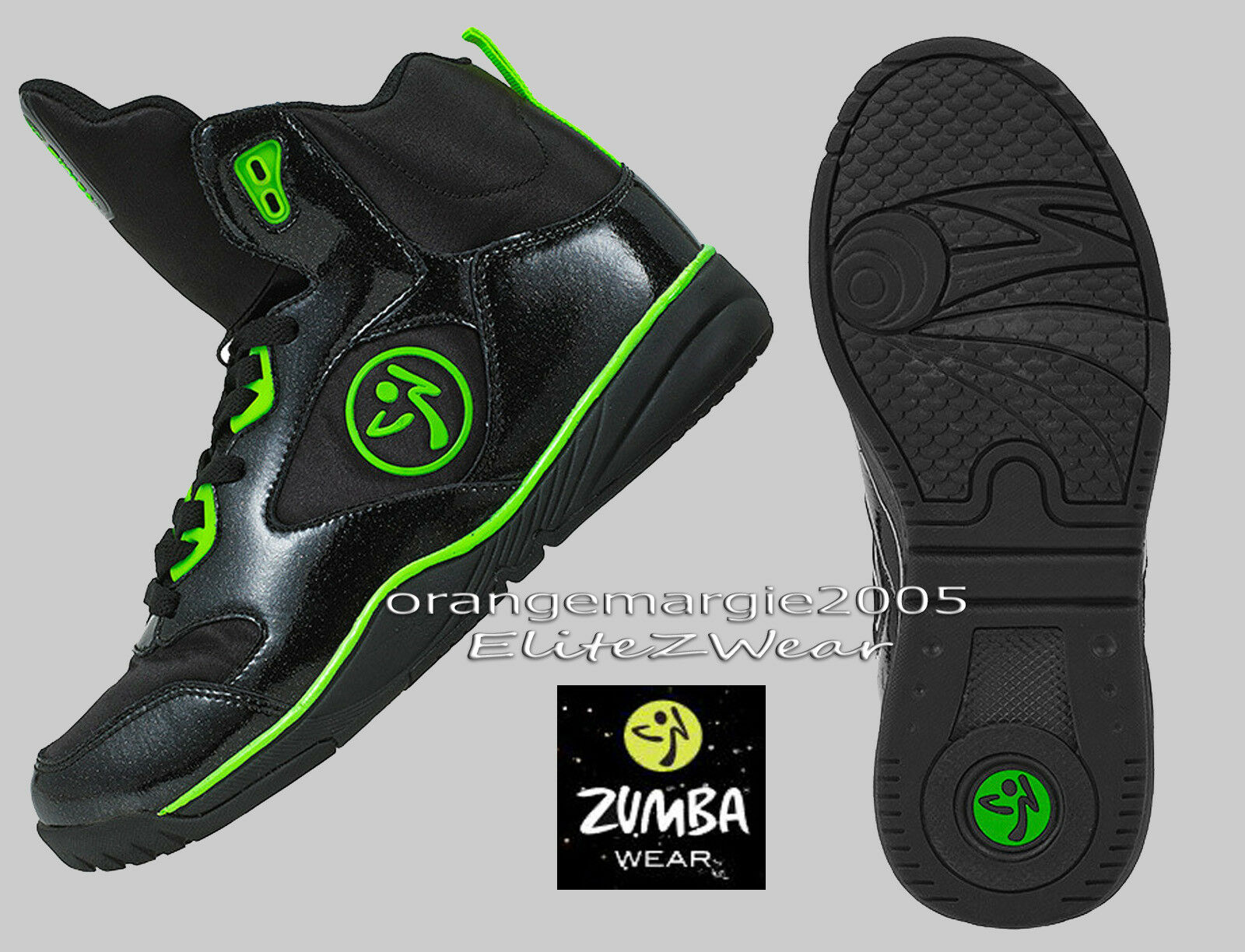 ZUMBA HIGH TOP SHOES TRAINERS Classic Max  Zumba's Top Line  6,6.5,7,7.5,8,8.5,9