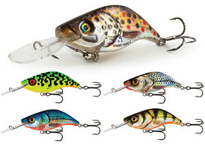 Salmo-Sparky-Shad-4cm-3g-SS4S-Coulant-Leurres-Truite-Sandre-Brochet-COULEURS