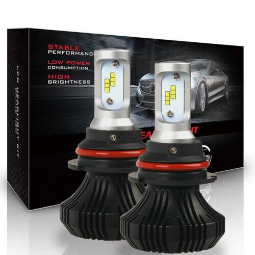 Super Bright 9007 CREE LED White Headlight Conversion High//Low Beam Light Bulb