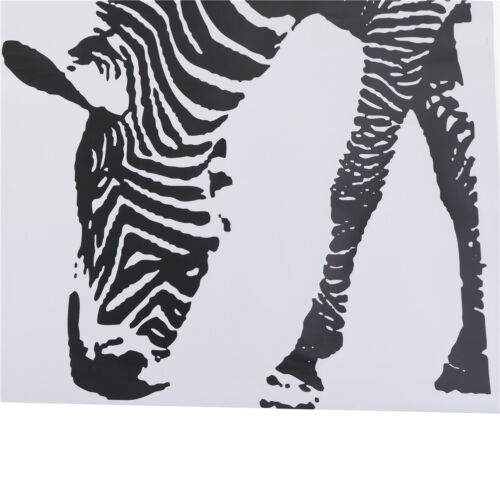 Lovely Zebra DIY Wall Stickers Abstract Art Black Decor Animal Stickers ZY