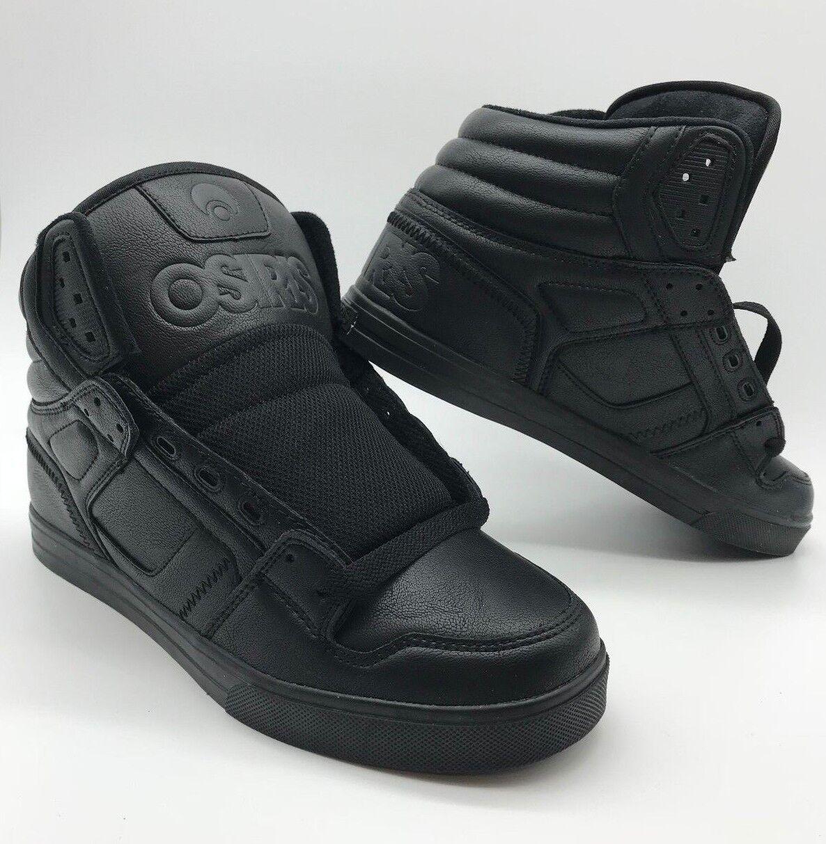 Osiris Para hombres Zapatos  clon  -- Negro metal