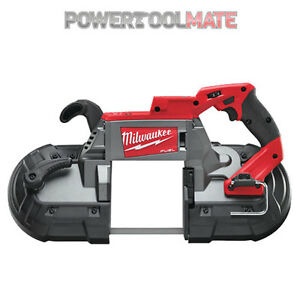 Milwaukee-M18CBS125-0-18V-CARBURANTE-taglio-profondo-band-ha-visto-solo-corpo