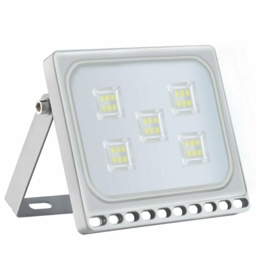 Slim 300//500W LED Floodlight SMD Outdoor Waterproof IP65 Security Warm//Cool Lamp