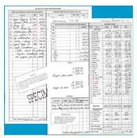 Home Based & Small Monthly Business Bookkeeping Cash Record System Dome 612