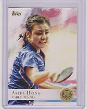 2012 TOPPS OLYMPIC ARIEL HSING TABLE TENNIS PING PONG GOLD CARD #75 ~ MULTIPLES