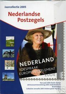 Officiele-TPG-jaarcollectie-Ned-postzegels-2005-Luxe