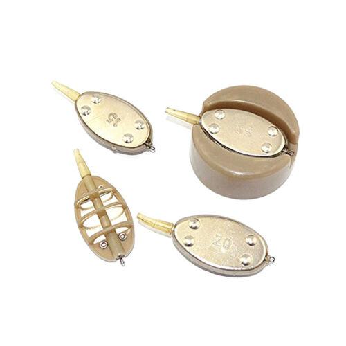 5stk//Set Method Feeder Set Futterkorb Futterkörbe Feederangeln 15//20//25//35g HOT