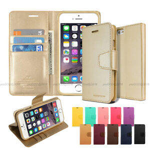 Slim-Flip-Leather-Wallet-Case-Cover-Silicone-For-iPhone-5-5S-6-6S-7-Plus-LG-Lot