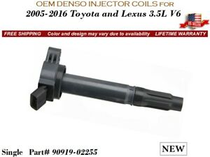 NEW OEM DENSO //SINGLE// Ignition Coil for 2005-2016 Toyota Avalon V6 3.5L