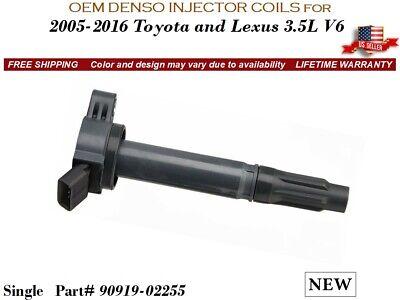 NEW OEM DENSO Set//4 Fuel Ignition Coils for 2011-2016 Toyota Sienna V6 3.5L