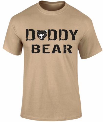 Papa Ours Père/'s Jour Père Slogan Vacances T-shirt hommes