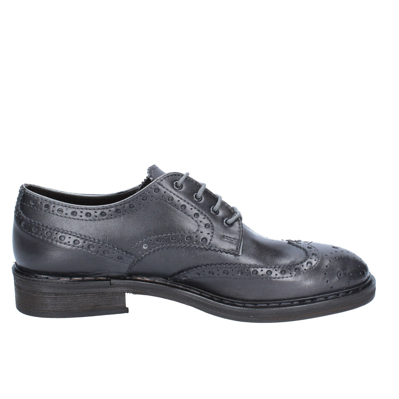 10 Uomo schuhe CESARE MAURIZI 10  (EU 44) elegant Grau Leder BX504-44 adfcdd