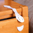2 pcs Child Infant Baby Kids Drawer Door Cabinet Cupboard Toddler Safety Locks
