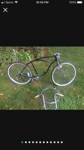 "1957 Vintage Schwinn Phantom Bicycle Corve Wasp 26"" Cruiser Fat Tire Tank Bike"