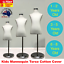 Unisex-Kids-Boy-Girl-Child-Children-Mannequin-Clothes-Dress-Form-Cotton-CHROME thumbnail 1