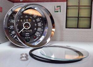 Jaeger Smiths Gauge Reconditioning Glass Seal Bezel Kit Triumph Spitfire Vitesse