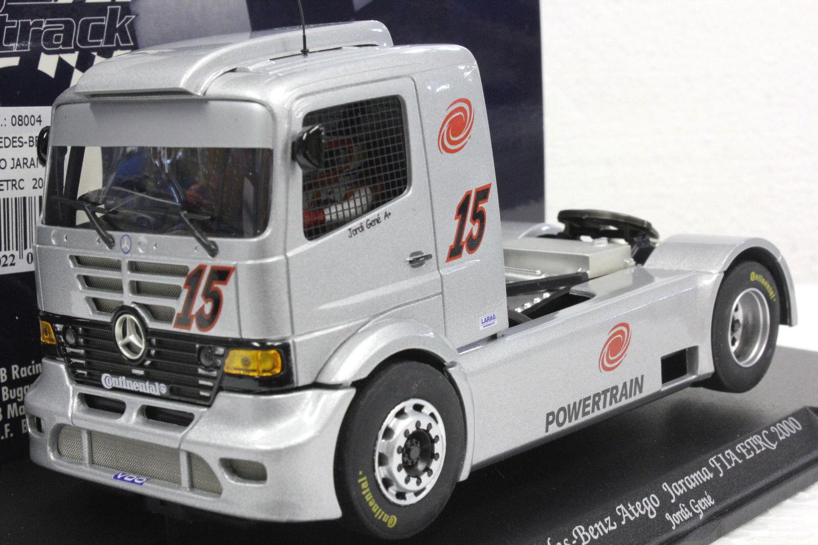 Fly 08004 camión 27 Mercedes Benz Atego Camión FIA ETRC nuevo 1 32 ranura de coche con pantalla
