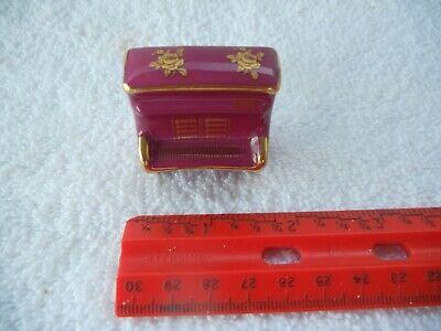 Vintage Limoges France China Dollhouse Miniature Piano Figurine Knick Knack Awesome Vintage Fine China