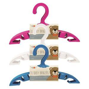 Confezione di 5 Abiti Da Bambino Bambini Plastica Appendini Kids Gonna Camicia Panni per bambini  </span>