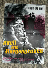 DUELL IM MORGENGRAUEN * Van Heflin - A1-FILMPOSTER Ger 1-Sheet ´58 Gunman's Walk