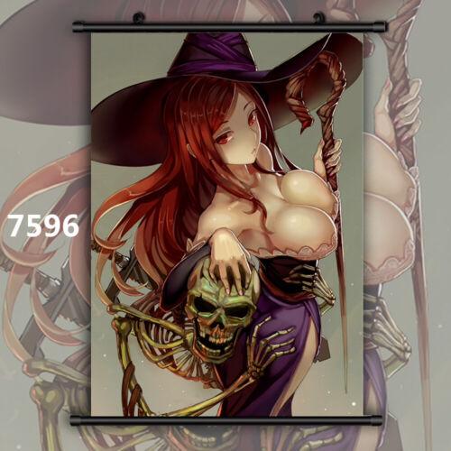 Dragon/'s Crown Sorceress HD Canvas Print Wall Poster Scroll Room Decor