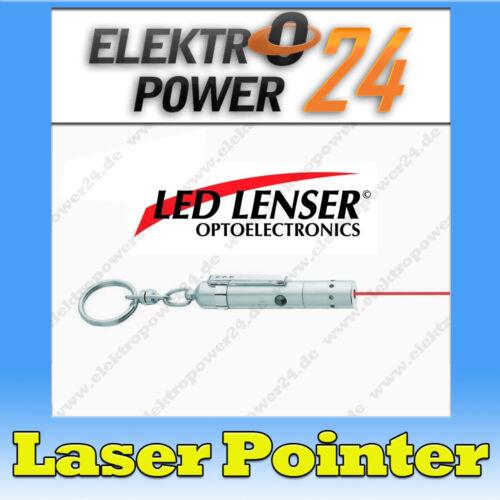 LEDLENSER zweibrüder laser pointer v9 rouge 650nm robuste très Boîtier Métallique 7630