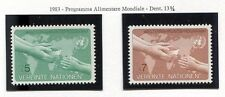 19328) UNITED NATIONS (Vienna) 1983 MNH** World Food