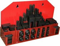 52 Pc Milling Machine Clamping Kit 3/8 Slot 5/16 Stud  Lathe Mill from CHRONOS