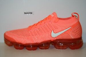 5fe85cac4 AUTHENTIC NIKE AIR VAPORMAX FLYKNIT 2 Crim Coral Stardust 943843 800 ...