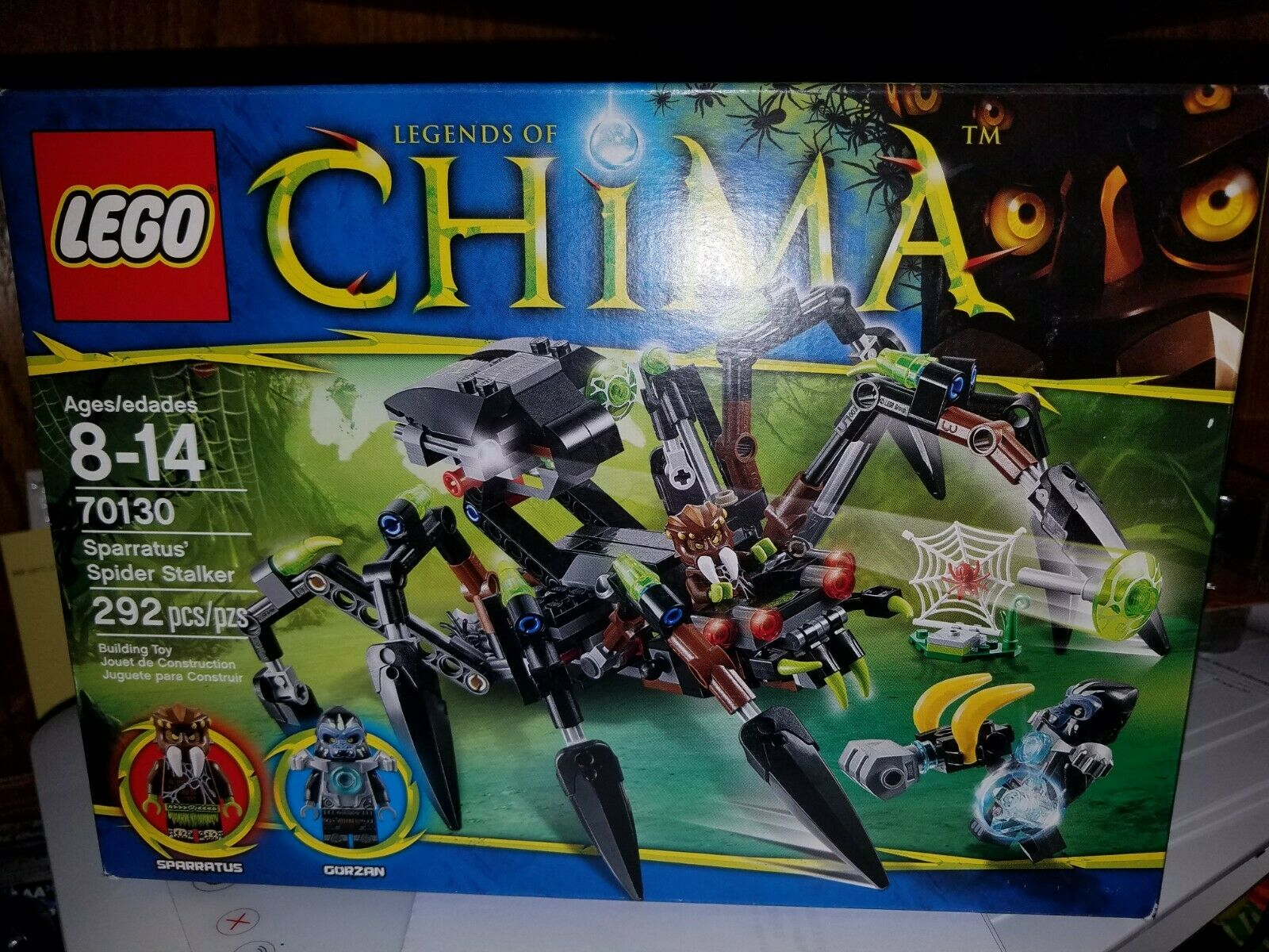 LEGO 70130 Legend of Chima NO MINI FIGURES // BOX Sparratus/' Spider Stalker