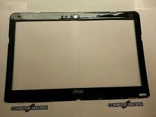 Original OEM MSI X340 MS-1352 LCD FRONT BEZEL COVER TRIM E2P-351B212-Y31