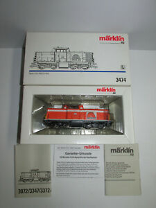 Maerklin-3474-Diesellokomotive-der-Seco-DG-mit-BN-133-03-digital-OVP-Spur-H0