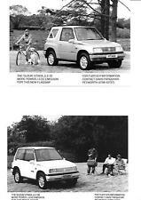 "SUZUKI VITARA JLX SR CAR ORIGINAL PRESS PHOTO (TWO OF) PORTFOLIO "" BROCHURE """