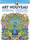 Creative Haven Art Nouveau Animal Designs Coloring Book von Marty Noble (2013, Taschenbuch)
