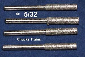 "New Set Fits Sharpener Diamond Burr Stone Rotary Chainsaw 7//32/"" 1453 File Power"