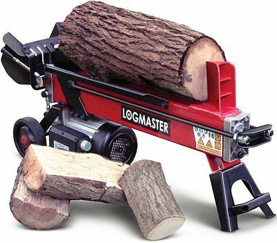 7 Ton Electric Hydraulic Log Splitter | Portable Fire Wood Cutter by Logmaster