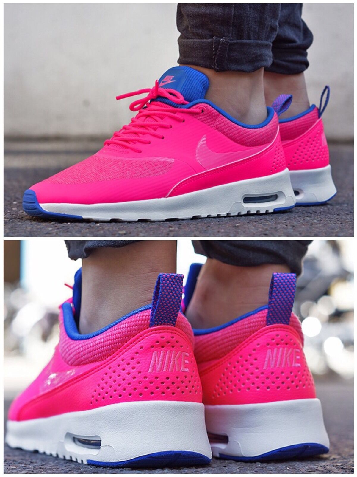 Nike Air Max Thea Premium.  4 616723 601. U.K. Größe 4  ee8f03